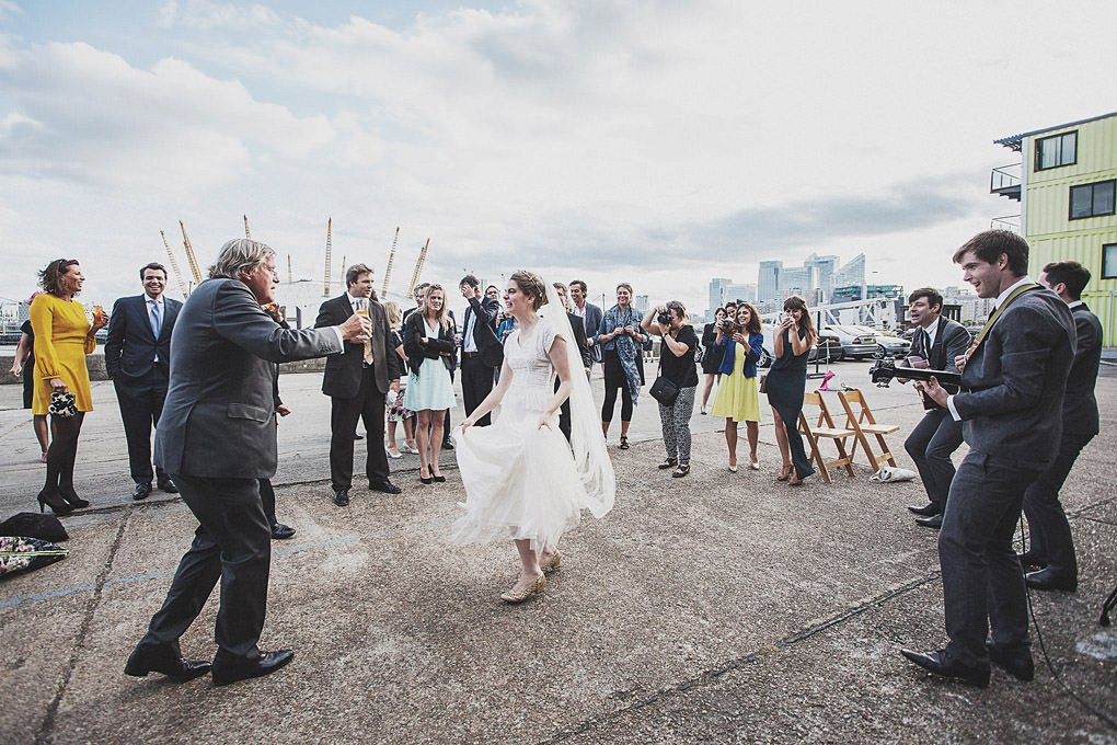 London wedding photographer Trinity Buoy Wharf 130
