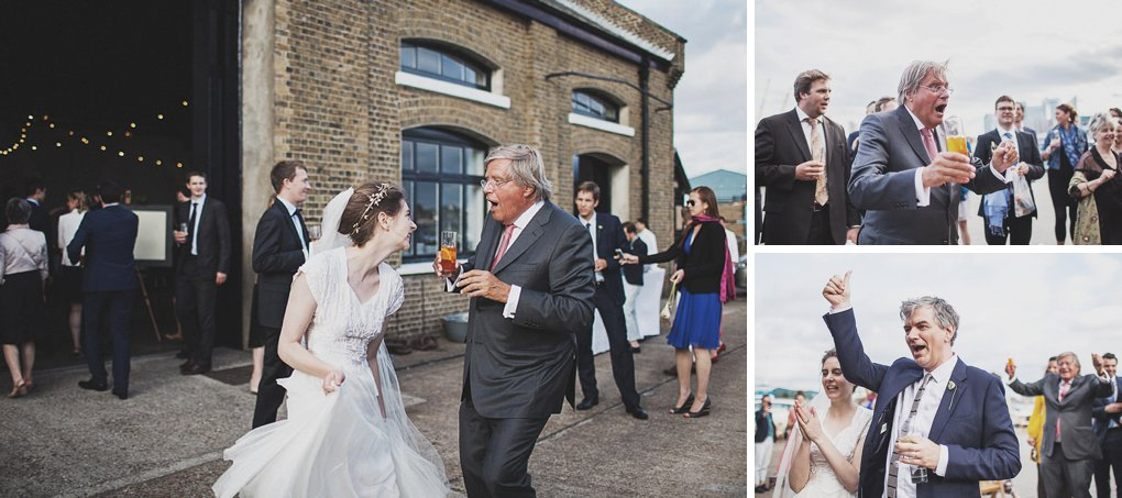 London wedding photographer Trinity Buoy Wharf 131