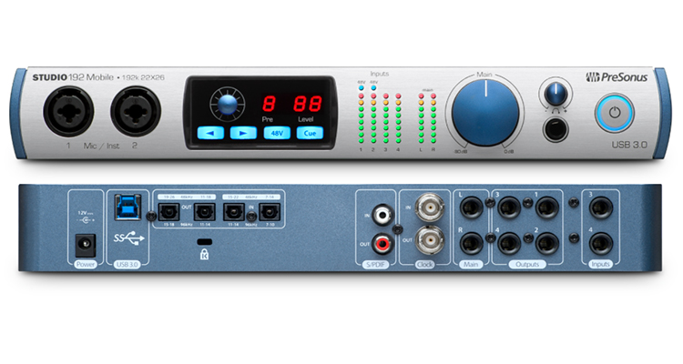 STUDIO 192 MOBILE - Interfejs Audio USB 3.0