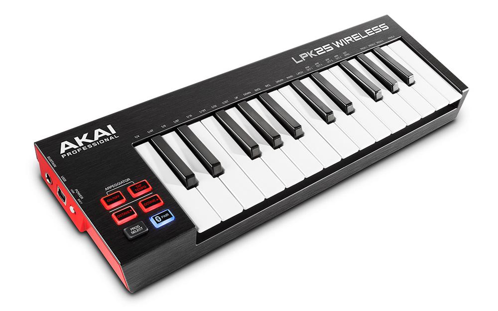 LPK25 WIRELESS - Bezprzewodowy Sterownik MIDI