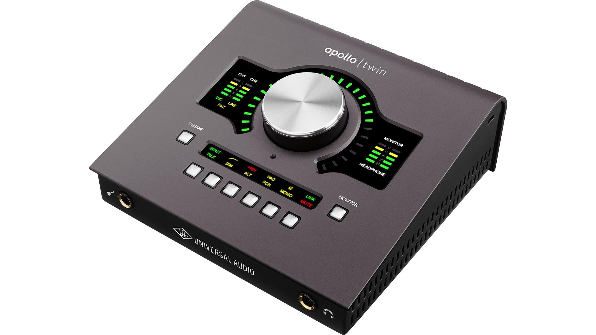 APOLLO TWIN MKII QUAD - Interfejs Audio