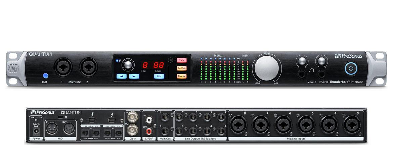 QUANTUM - Interfejs Audio Thunderbolt