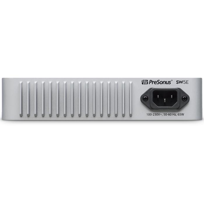 SW5E - 5-portowy switch AVB z PoE