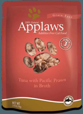 Tuna with Pacific Prawn
