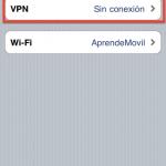 Conexion VPN en iPhone
