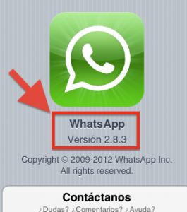 version whatsapp 2-8-3 encripta los chats