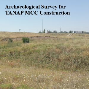 Archaeological Survey for TANAP MCC Construction