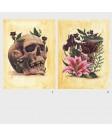 The Skull, Funerary Flowers
