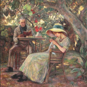 În grădină la Beaucaire