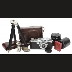 Set aparat foto Leica din dotarea trupelor germane de recunoaştere şi a celor de aviaţie, al Doilea Război Mondial