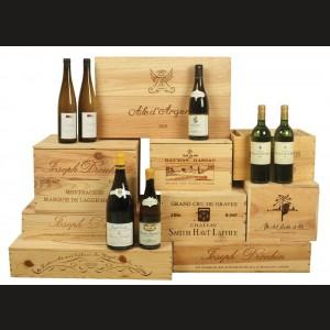 Colectie de vinuri albe frantuzesti de exceptie 72 sticle Rothschild, Smith Haut Lafitte, Chassagne Montrachet …