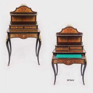 Excepțional cabinet tip Boulle, în stil Napoleon III, cca. 1870