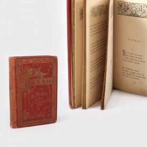 """""""Poesii de Mihail Eminescu"""", Bucureşti, editura Socec, 1884, ediţia Princeps în coperta originală, piesă bibliofilă de raritate extremă"""