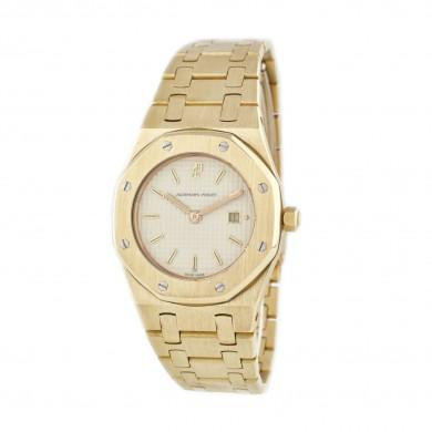 Extravagant ceas Audemars Piguet Royal Oak, de mână, de damă, din aur