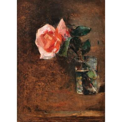 Pahar cu trandafir