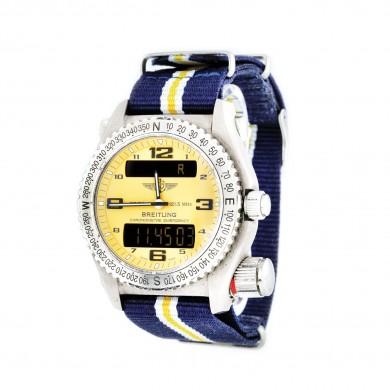 Ceas Breitling Emergecy, de mână, bărbătesc, din titanium