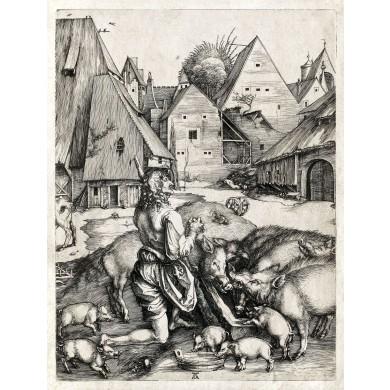 Fiul Risipitor păzind porcii
