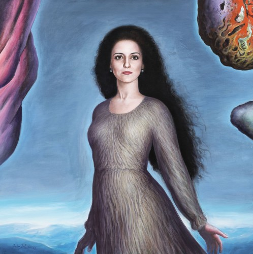 Diva (Portretul sopranei Nicoletta Curriel)