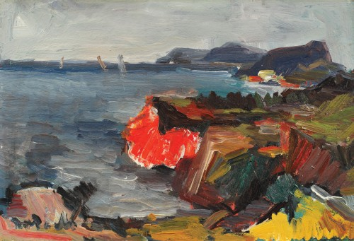 Peisaj la Capri