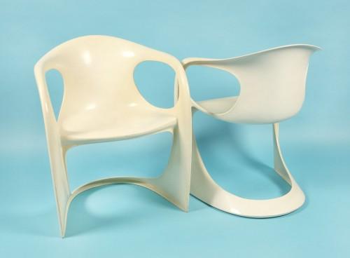 Pereche de scaune Casalino, pentru Casala, cca. 1970
