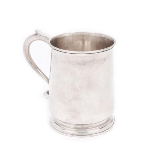 Halbă din argint Thomas Tearle, pentru bere, 1731