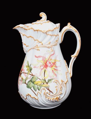 Carafă din porțelan de Limoges, designer Marcel Redon