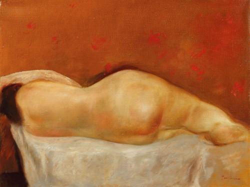 Nud dormind