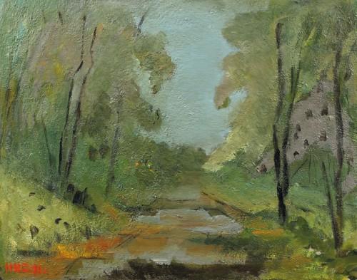 Peisaj la Mogoşoaia