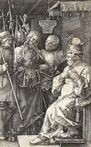Iisus Hristos la Caiafa