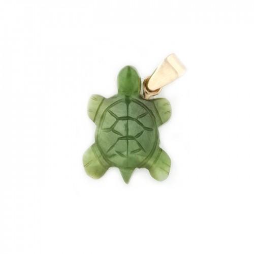 Pandant-țestoasă din nefrit