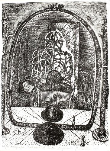 """Cărţi de joc (din ciclul """"Golemul"""" după Gustav Meyrink)"""