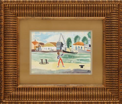 Marinar în portul Sulina