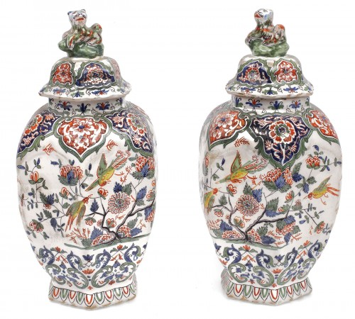 Pereche de vase din portelan