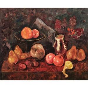 Natură statică cu fructe