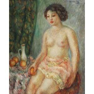Nud cu portocale