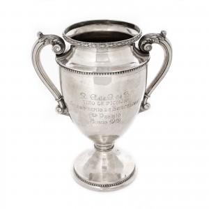 Monumentală cupă-premiu din argint, cca. 1919