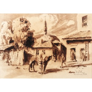 Peisaj din Priștina