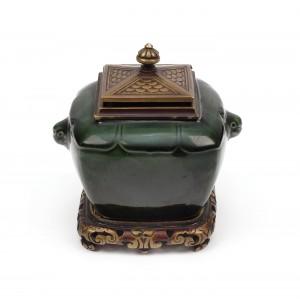 Prețioasă călimară Joseph Théodore Deck, cca. 1880