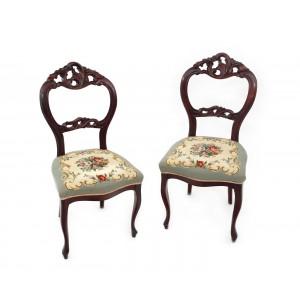 Pereche de scaune englezești, începutul sec. XX