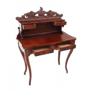 Birou secretaire din lemn de cireș, sfârșitul sec. XIX