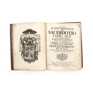 """""""Cuvântările Sf. Ioan Gură de Aur"""", de Bernard Montfaucon, în latină, 1763"""