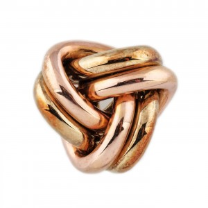 Broșă din aur cu interesantă împletitură