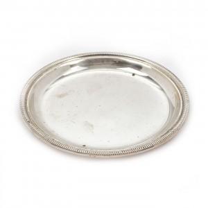 Mic platou oval din argint
