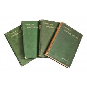 """""""Din viața Regelui Carol al României, Relatările unui martor ocular""""  4 volume, în limba germană, Stuttgart, 1894"""