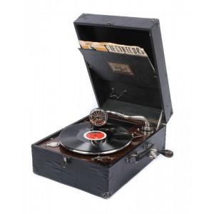 Patefon Polydor, de călătorie, începutul sec. XX