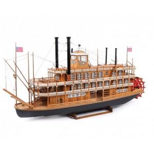 """Macheta vasului """"Mississippi, 1870"""", a obținut medalia de bronz în cadrul campionatelor europene de modelism, categoria C, Kavarna, Bulgaria, 2017"""