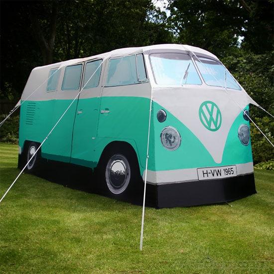 VW Campervan tent in peppermint