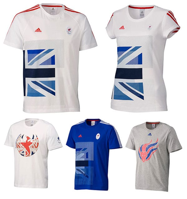 Team GB adidas London 2012 Paralympic clothing