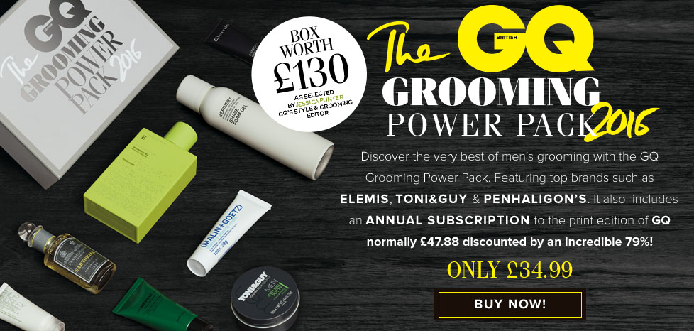 The GQ Grooming Power Pack
