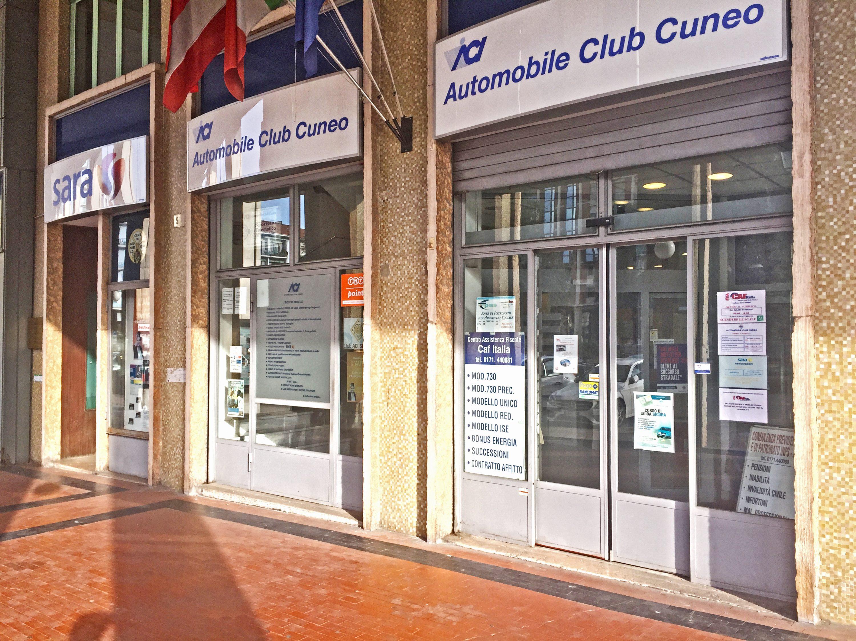 La sede dell'Automobile Club Cuneo è in piazza Europa 5 a Cuneo